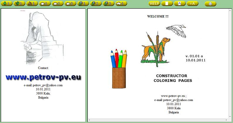 constructor coloring pages
